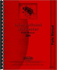 International Harvester 384 Tractor Parts Manual
