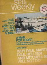 Star Weekly Magazine Montreal Expo Liquor Laws March 9 1968
