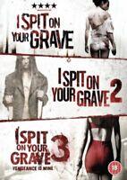 I Spit On Your Grave Trilogia (3 Film) Nuovo DVD Region 2