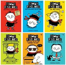Timmy Failure Series Collection Set 1-6 Hardcover by Stephan Pastis Brand New