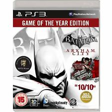 Batman Arkham City - Game of the Year For PAL PS3  (New & Sealed)