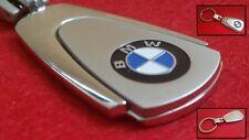 BMW Car Key Ring NEW Stylish Keyring Metallic Key Chain + Gift Pouch