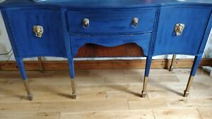 Gorgeous Blue Reclaimed Sideboard