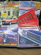 4 MUSTANG Parts & Accessories Catalogs 1965-73 MODELS National Parts Depot