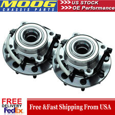 Included with Two Years Warranty Front Wheel Bearing and Hub Assembly - Two Bearings Left and Right Note: 6 Stud Hub; RWD 5.3 Liter V8 RWD SLE, SLT 2001 fits GMC Yukon XL 1500