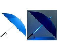 Star Wars Umbrella Lightsaber Led Handle Blade Runner Torch Dark Rain Night New