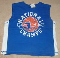 BOYS SIZE 6-9 MONTHS CHILDRENS PLACE MUSCLE / TANK TOP NWT SHIRT BASKETBALL