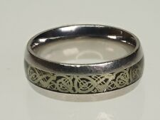 Sterling Silver  Men's Ring, size 8 3/4