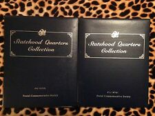 A2 STATEHOOD QUARTERS COLLECTION POSTAL COMMEMORATIVE SOCIETY COMPLETE 1&2 CHAMP