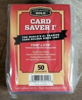 Cardboard Gold Card Saver 1 Pokemon MTG PSA BGS Graded Card Submissions