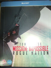 Mission Impossible: Rogue Nation Embossed SteelBook Region Free UK New Sealed