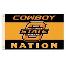 Ncaa Oklahoma State University Osu Cowboys 3' x 5' Nation Flag w/Grommets banner