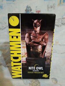DC Comics DC Direct Watchmen Nite Owl bust 0318 of 5000 NIB