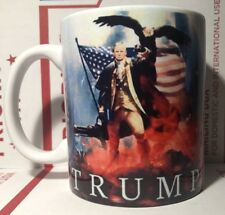 NEW! President Donald  Trump  TRUMP THE PATRIOT Coffee Cup Mug 🇺🇸🇺🇸🇺🇸🇺🇸