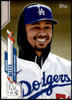 Mookie Betts 2020 Topps Short Print Variations 5x7 #420 /49 Dodgers