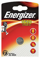 1 x Energizer 1620 CR1620 3V Lithium Coin Cell Battery DL1620 KCR1620, BR1620