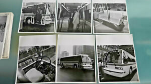 CTA officials check out new RTS demonstrator bus - 1978   7 photos