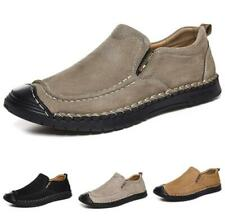 Mens Driving Moccasins Shoes Pumps Slip on Loafers Flats Non-slip Breathable New