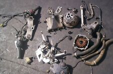 1996 GSXR750 Parts Lot STATOR-COVER CLUTCH ASSEMBLY HANDLEBARS-SWITCHS-ETC