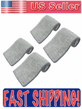 "Flat Mop Pads Microfiber Replacement Cloth for Squeeze Spray Mops 13"" x5"" 4 Pack"