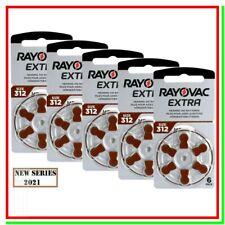 batterie per apparecchi acustici 312 rayovac extra 30 pile per protesi