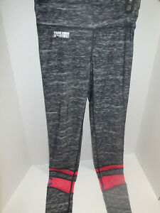 Rare Cleveland Indians MLB Women's Ladies Leggings /Blue/Red Size Small