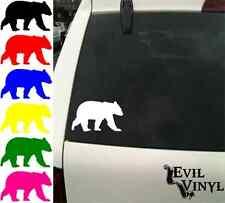 Bear Decal Car Window Animal Deer A Lot Laptop iPad Case Sticker Vinyl ANY SIZE