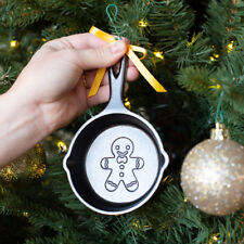 Lodge Cast Iron 2018 Holiday Limited Mini Skillet - Gingerbread Man **RETIRED**