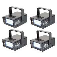(4) CHAUVET LED Mini Strobe Manual Adjust 21 LEDs DJ Club Light Effects | CH-730