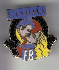 RARE PINS PIN'S .. TV RADIO PRESSE FR3 FRANCE 3 CINEMA FILM BAISER EMAIL ~DC