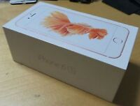 Apple iPhone 6s Rose Gold Original Genuine UK Spec Empty Box. No Phone