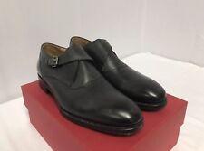 de101cb1c9c New Valentino Gray Leather Single Monk Strap Buckled Loafers Sz 42EU 9US   895.00
