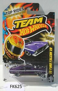 Hot wheels Top Rides 73 Ford Falcon XB Purple FNQHotwheels FK625
