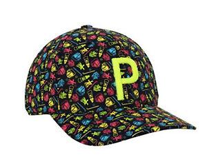 NEW Puma P110 Mini Golf Black Snapback Golf Hat/Cap