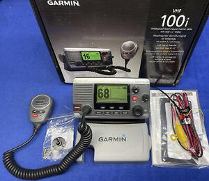 Garmin VHF 100i INTERNATIONAL DSC VHF Transceiver Radio; Complete, Dealer Demo