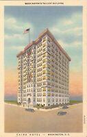 "Washington, DC - Cairo Hotel - 1934 - ARCHITECTURE - ""Washington's Tallest Bldg"""