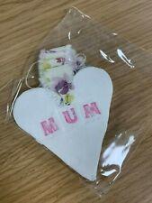 Handmade Decorative Mum Heart - Mother's Day - Autism Awareness