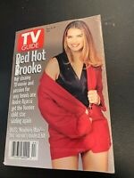Magazine~ TV GUIDE ~November 4 1995 ~Brooke Shields ~Angela Lansbury ~Ads