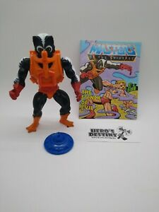 Vintage Stinkor Masters of the Universe MOTU He-Man Complete w/ comic 0034
