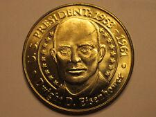 US President Dwight D. Eisenhower Sunoco Presidential Coin Series 2000 token