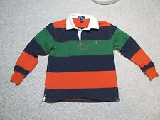 Boys Ralph Polo Lauren Long Sleeve Shirt Youth Size S - Striped - Good Condition