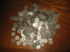 1004 Old Buffalo Nickels With No Dates.  Collect or for Jewelry