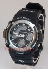 Aqua Master Men's Diamond Watch New Shock By AQM