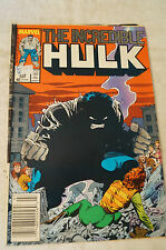 The Incredible Hulk -  Classic Marvel Comic Book - Quality of Life.