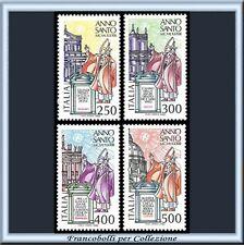 1983 Italia Repubblica Anno Santo n. 1628/1631 **