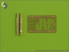 GERMAN 20mm MG-FF BARRELS AND SIGHTS x 2  PCS #32027  1/32 MASTER