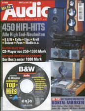 Audio 06/98. BOSE 901, JBL ti 5000, MARANTZ CD 67 se, Wadia, ottava, Krell, HGP