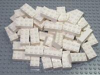 LEGO Bricks   2x4 x 50 pcs - White - Brand New