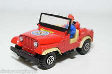 GUISVAL JEEP WILLYS BOMBEIROS FIRE CAR VERY NEAR MINT CONDITION