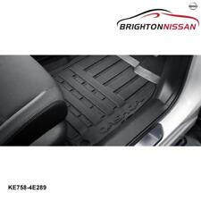 New Genuine Nissan Qashqai J11 All-Weather Rubber Floor Mats KE7584E289 RRP $140